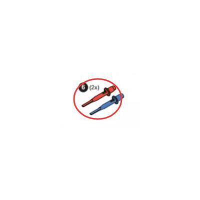 福禄克4744357 勾形测试夹子(红、蓝)