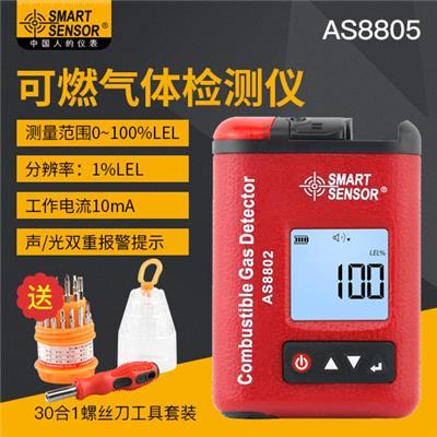 希玛AS8802可燃气体检测仪报警器工业级高精度家用燃气泄漏检测
