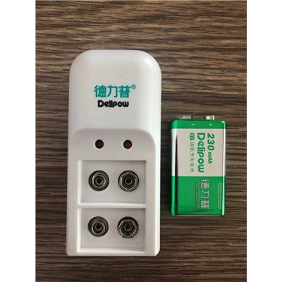 9V电池充电套装