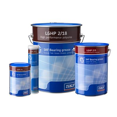 SKF高性能润滑脂LGHP2/0.4 大型水泵电机轴承 专用进口润滑脂