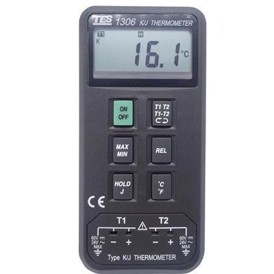 台湾泰仕TES温度表(温度计)(K J型)TES-1306