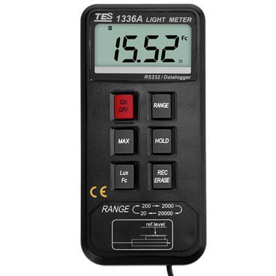 台湾泰仕TES,记忆式照度计TES-1336A