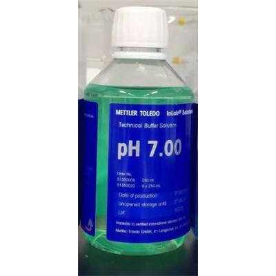 梅特勒 PH标准缓冲溶液 PH标液7.00