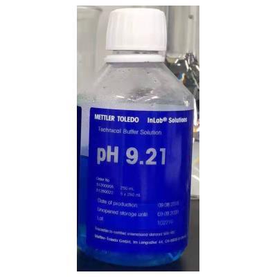 梅特勒 PH标准缓冲溶液 PH标液9.21