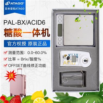 日本爱拓atago  PAL-BX/ACID6 香蕉专用糖酸一体机