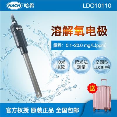 美国HACH哈希 溶解氧荧光法电极LDO10110 探头  污水:10米