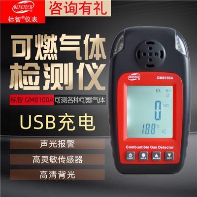 标智 GM8100A 可燃气体检测仪
