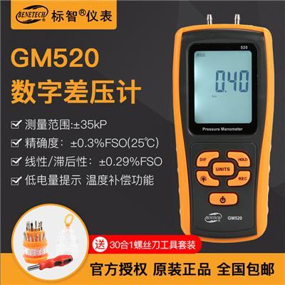 标智BENETECH 差压计 GM520