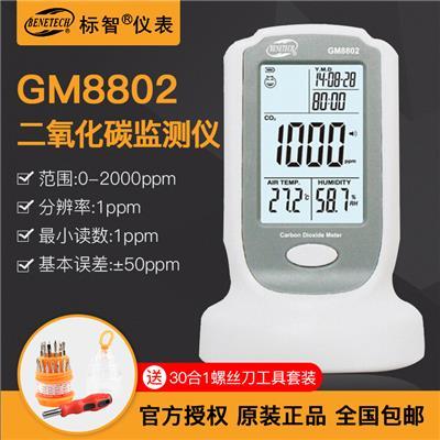 标智BENETECH 二氧化碳监测仪 GM8802
