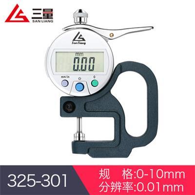 日本三量 325-301 0-10mm 数显型厚度测量仪
