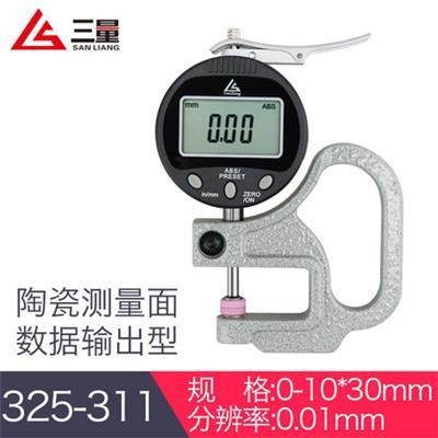 日本三量 325-311 0-10mm百分输出型厚度测量仪