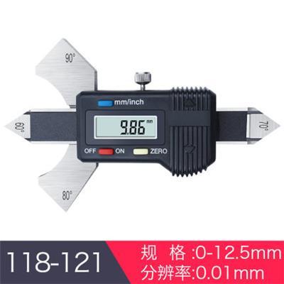 日本三量118-121 0-12.5mm数显焊缝尺