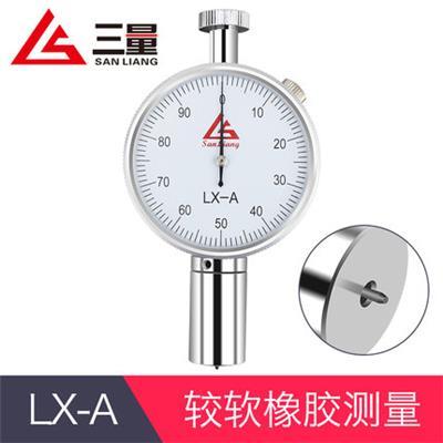 日本三量LX-A型较软橡胶测量邵氏硬度计