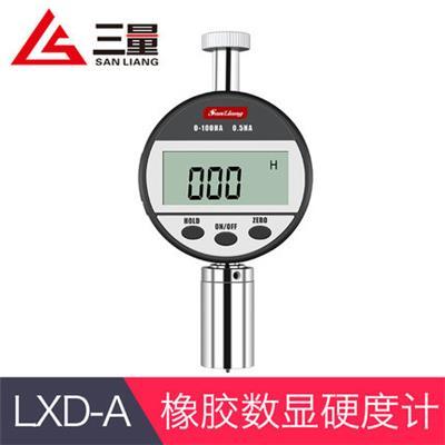 日本三量LXD-A型数显较软橡胶测量邵氏硬度计