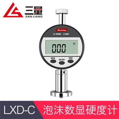 日本三量LXD-C型数显海绵泡棉测量邵氏硬度计