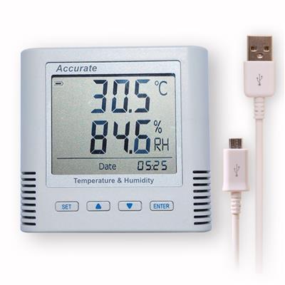 华汉维TH11R温湿度记录仪自动温湿度计