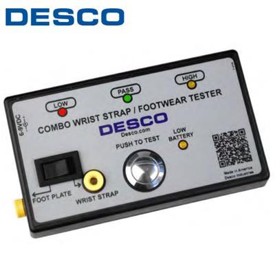 美国DESCO 19282人体静电测试仪(单脚测试仪)