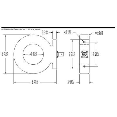 Pearson皮尔逊电流传感器MODEL2100