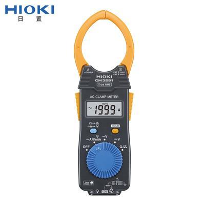 日置钳形表hioki CM3281/CM3291手持数字钳形万用表 交流2000A