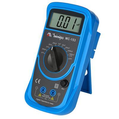 米尼帕MC-153 电容表专业数字电容万用表电容测试仪3 1/2位高精度