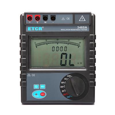 铱泰ETCR3460A绝缘电阻测试仪