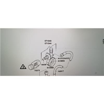 德尔格 DE100 转换接头和压力表